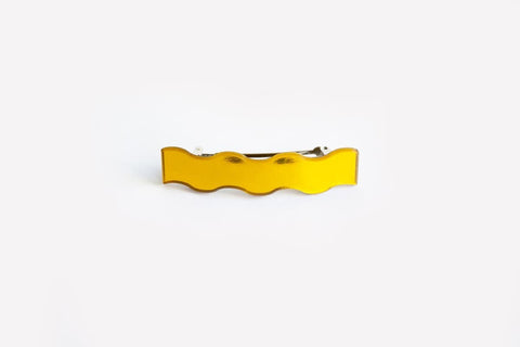Reflect Gold Hair Clip Squiggle