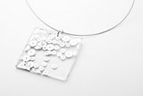 Regency Silver Necklace - Lrg Square