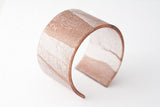 Swept Copper Cuff - Wide