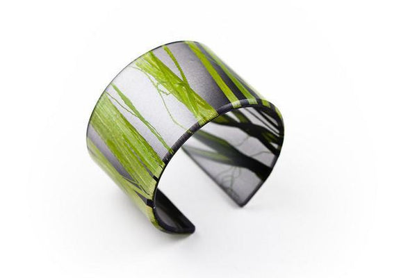 Seaweed Black Cuff - Wide