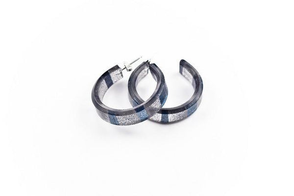 Tempo Ice Hoop Earrings - Small