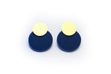 Wizard Earrings - Disc Stud