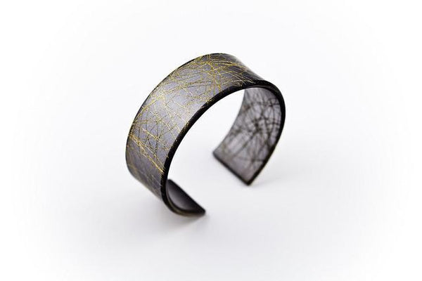 Wisp Gold Cuff - Narrow