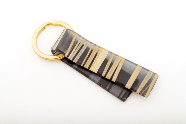 Bear Grass Black Key Chain