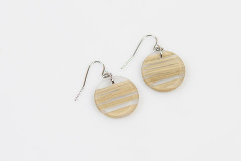 Bear Grass Lite Earrings - Circle