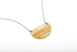 Bear Grass Lite Necklace - Half Circle