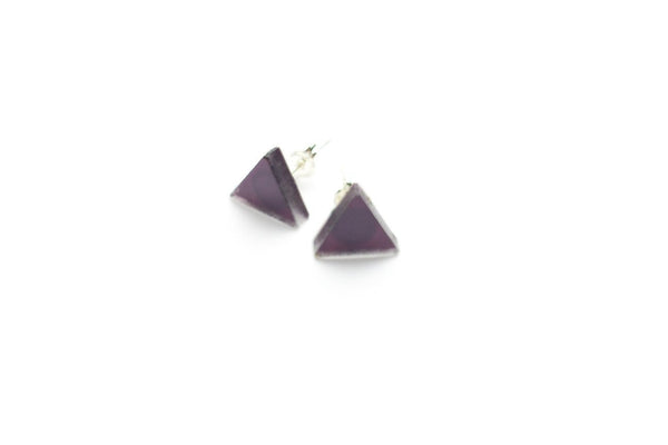 Bewitched Stud Earrings - Triangle