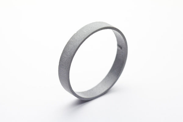 Cement Outline Bangle - Circle