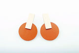 Coral Earrings - Billy