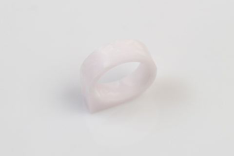 Corian Drop Ring - Blush