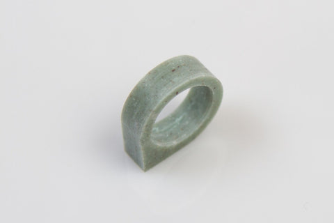 Corian Drop Ring - Jade