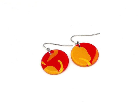 Chili Pop Earrings - Circle