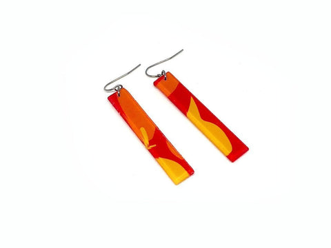 Chili Pop Earrings - Long