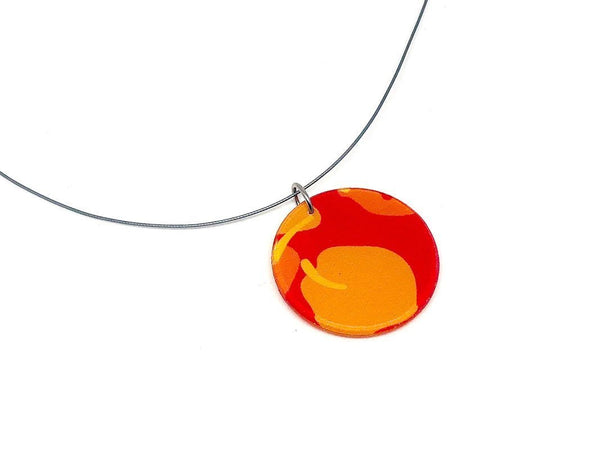 Chili Pop Necklace - Circle