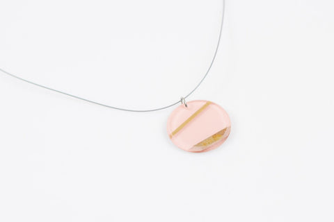 Electra Rose Necklace - Circle