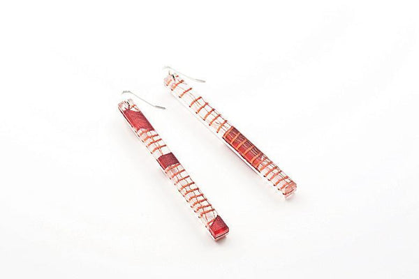 Migration Connection Earrings - Skinny