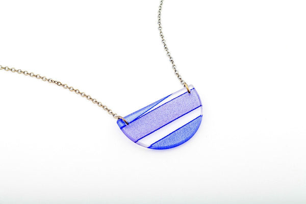 Mirage Twilight Necklace - Half Circle