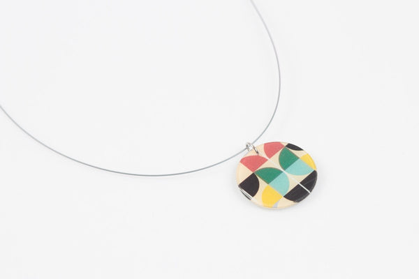 Mid Pop Necklace - Circle