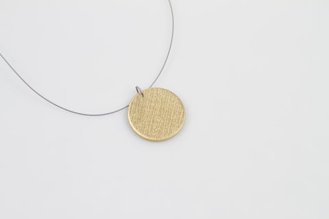 Pure Gold Necklace - Circle