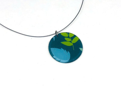 Plant Pop Necklace - Circle