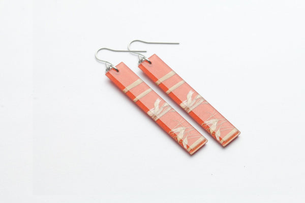 Rice Grass Mesa Earrings - Long