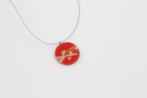 Rice Grass Mesa Necklace - Circle