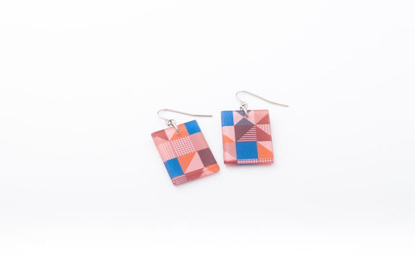Rose Pop Earrings - Regular