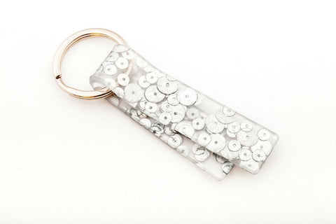 Regency Silver Key Chain