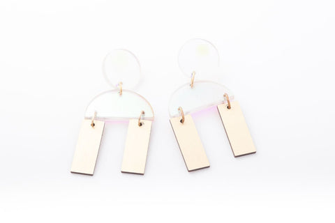 Solar Earrings - Cindy