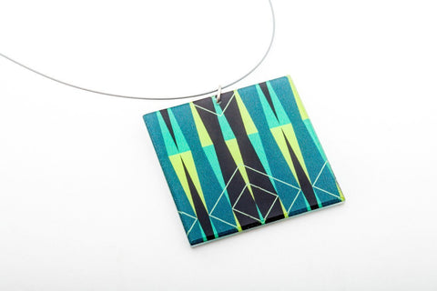 Sim Pop Necklace - Lrg Square