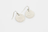 Ecoresin Earrings - Circle