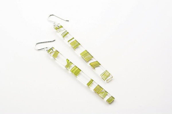 Seaweed Earrings - Skinny