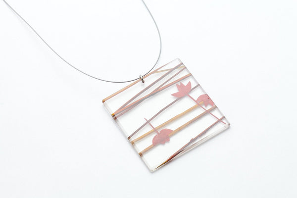 Ting Ting Elements Necklace - Lrg Square