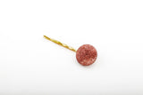 Wild Silk Mulberry Bobby Pin
