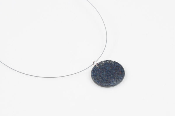 Wild Silk Prussian Necklace - Circle
