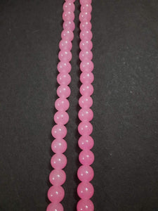 10Mm Glass Beads L Pink