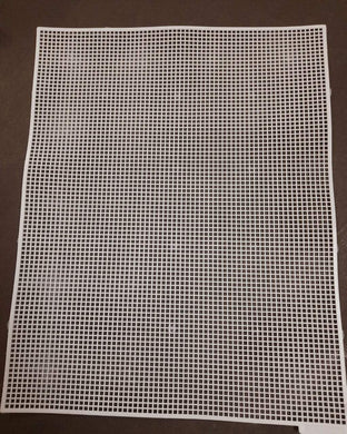 Plastic Cross Stitch Canvas Sheet/size 12.5X10 Inches Embroidery Thread