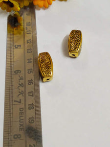 Antique Gold Beads Ccb 11