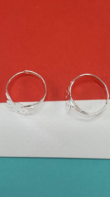 Finger Ring Base (Silver)
