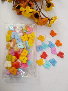Fancy Plastic Buttons B2 (Butterfly)