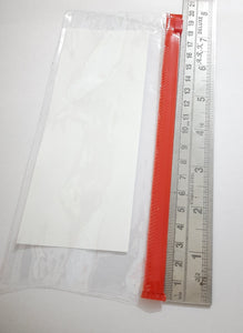 Plastic Pouch Thick Weight 19.5cm X 9cm