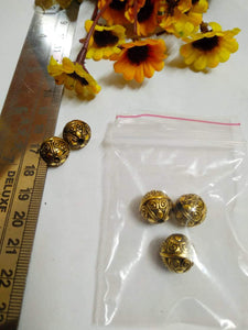 Antique Gold Beads Ccb 33