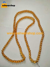 Load image into Gallery viewer, 10Mm Glass Beads Tranparent/honey Color