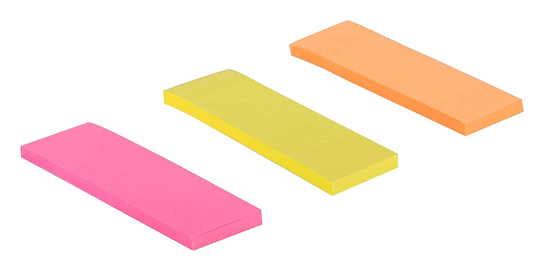 Removable Self Adhesive Notes 3 Pad Of 40 Prompt Each (25Mm X 76Mm*120 Sheets) Colors (Green Yellow