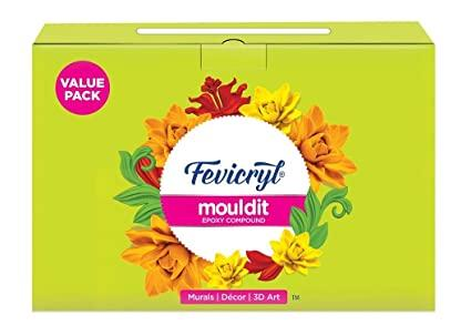 Fevicryl Mouldit 800Grams Fabric Glue & Adhesives