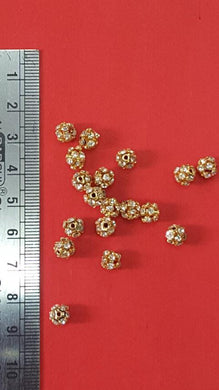 6 mm Stone Ball GOLD