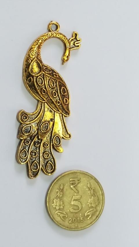 Antique Metal Gold Pendant AP 36