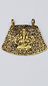 Antique Metal Gold Pendant AP 39