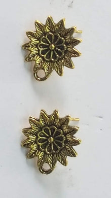 Gold Metal Stud AS01