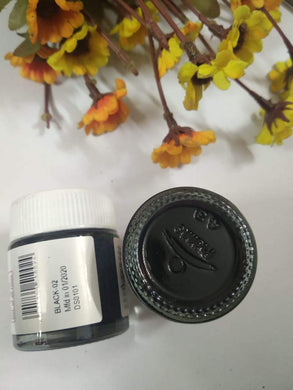 Fevicryl Acrylic Colors- Black Fabric Glue & Adhesives